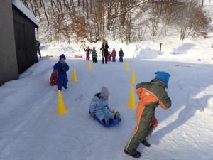 Bobařské závody, zimní aktivity leden 2019