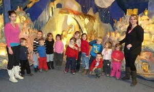 Betlém a výstava Mikulášských kostýmů v Horní Lidči, 27.11.2015