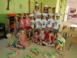 Rozloučení s předškoláky, červen 2019