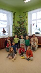 Zdobení stromečku a zimní aktivity, prosinec 2018